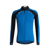 Funkier Talana Gents Active Long Sleeve Jersey- (J-730-LW) - Blue / Black