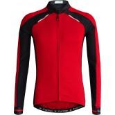Funkier Talana Gents Active Long Sleeve Jersey- (J-730-LW) - Red / Black