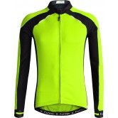 Funkier Talana Gents Active Long Sleeve Jersey- (J-730-LW) - Yellow / Black