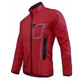 Funkier Cyclone WJ-1317 Waterproof Rain Jacket - Red