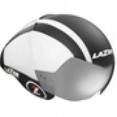 Lazer Wasp Air Helmet - Black / White Lines