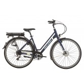 Raleigh Array Low Step Electric Bike - Navy