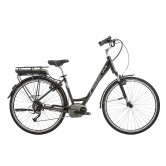 Raleigh Captus Low Step Electric Bike - Black