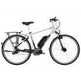 Raleigh Motus Cross Bar Electric Bike - Silver