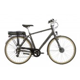 Raleigh Pioneer E Cross Bar Electric Bike -  Grey