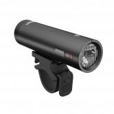 Ravemen CR1000 USB Rechargeable T-Shape Anti-Glare Front Light with Remote in Matt/Gloss Black