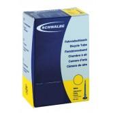 Pack of 3 x Schwalbe SVS15 - 700 x 18/28 - Presta Long Valve