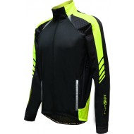 Funkier Tornado WJ-1326 Gents TPU Thermal Jacket in Black/Yellow