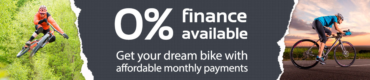 0% finance available at The Bike Factory, High Peak