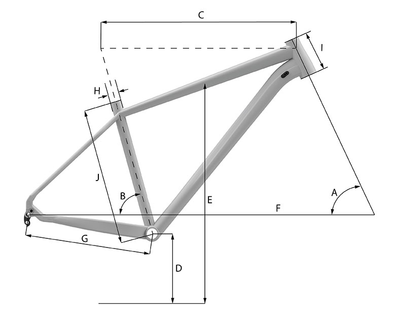 Whyte 905 V2 (2020) geometry diagram